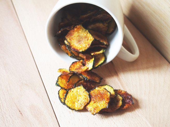 Chips de courgette au paprika