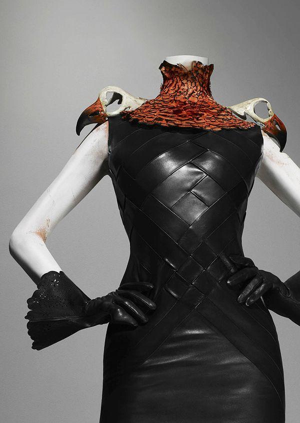 Alexander McQueen's Savage Beauty: Ensemble, Eclect Dissect, autumn/winter 1997–98