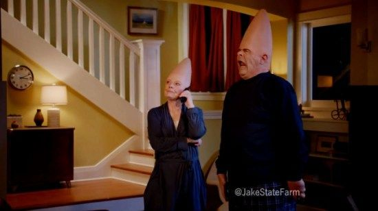 Ad of the Day: SNL – s Coneheads Remake the – Jake From State Farm – Commercial #commercial #meaning #in #english http://commercial.remmont.com/ad-of-the-day-snl-s-coneheads-remake-the-jake-from-state-farm-commercial-commercial-meaning-in-english/  #in the commercial # Ad of the Day: SNL's Coneheads Remake the 'Jake From State Farm' Commercial The spot that keeps on giving The Jake From State Farm phenomenon shows no signs of slowing down, as the insurance company and DDB Chicago just remade…