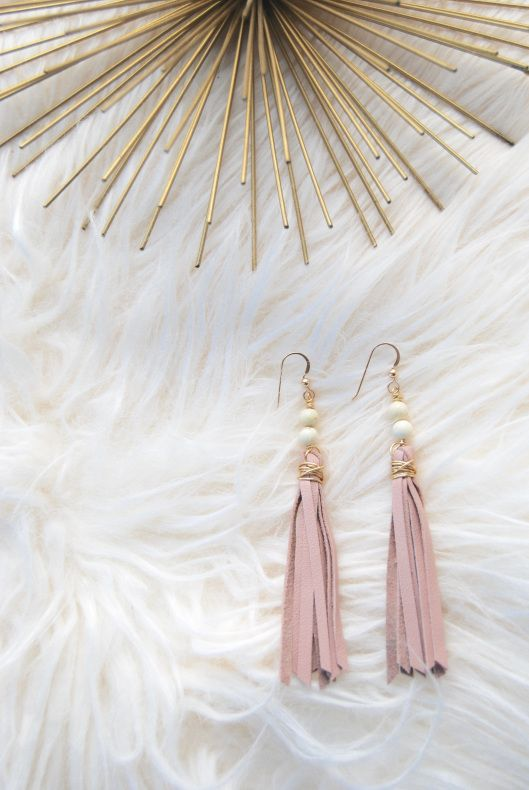 Raven and Riley Fringe Earrings - Perfect for Spring and Summer 2016! #earrings #accessories #jewelry #summer