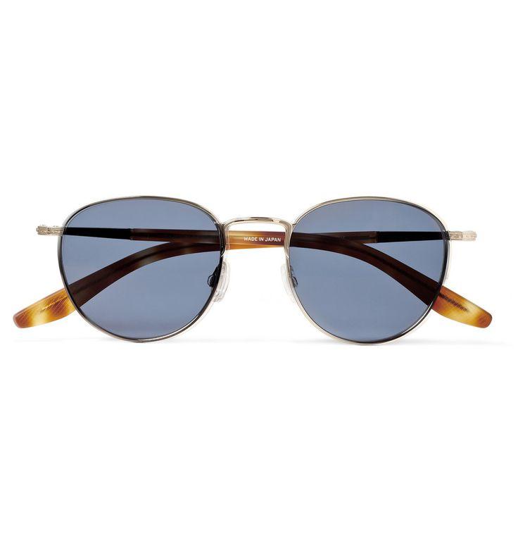 Barton Perreira - Burroughs Metal and Zyl Round-Frame Sunglasses | MR PORTER