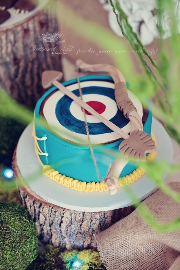 her amazing Brave cake :)