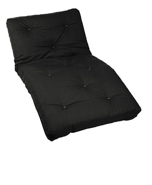 black twin futon mattress