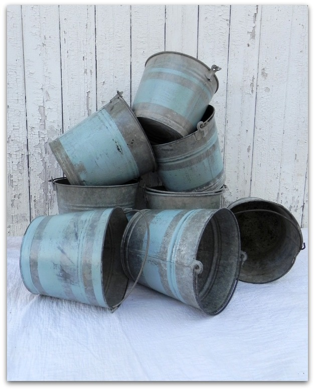 DIY: French Grain Sack Inspired Bucket ... a tutorial