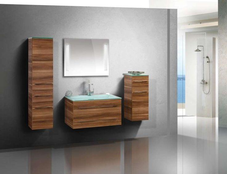 25+ ide Glaswaschbecken terbaik di Pinterest Waschbecken eckig - badezimmermöbel weiß landhaus