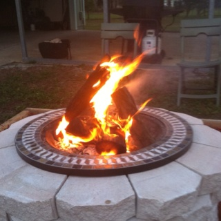 diy firepit. Black Bedroom Furniture Sets. Home Design Ideas