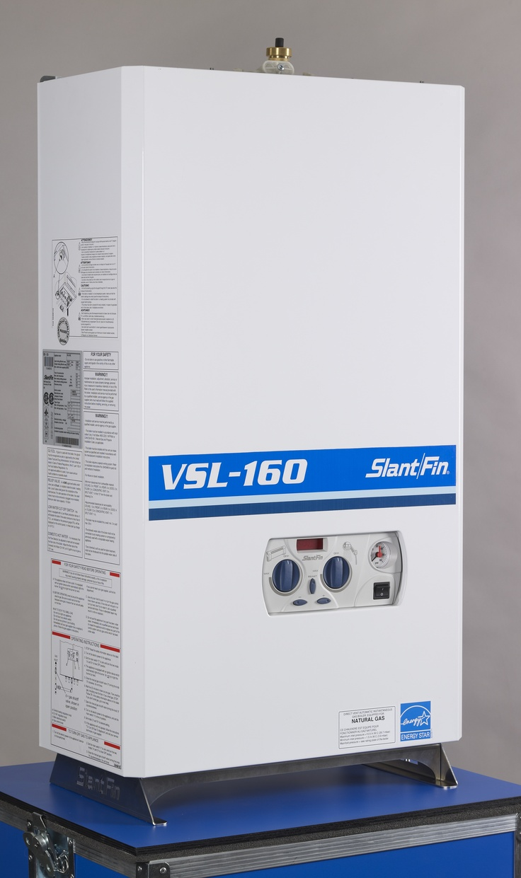The Slant/Fin VSL-160 Condensing Gas boiler stands at the top in performance, safety and environmental ratings.