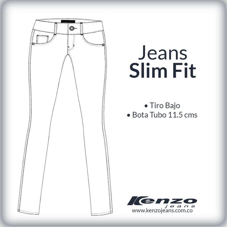 Perfectos para mujeres de baja estatura, alargan la silueta y resaltan la figura. #KenzoJeans www.kenzojeans.com.co/fits/