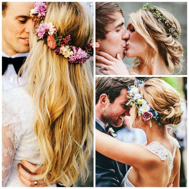 Floral crowns.