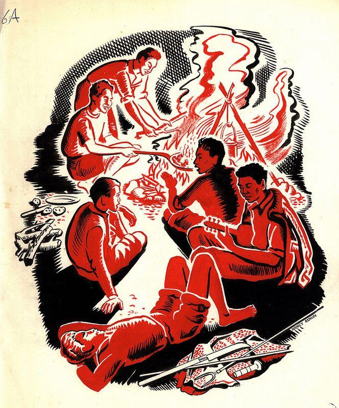 Samoan school publication artworks | by Archives New Zealand
