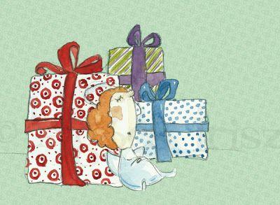 Artista Blog: Christmas Card design 2011/4 // Karácsonyi lapok 2...