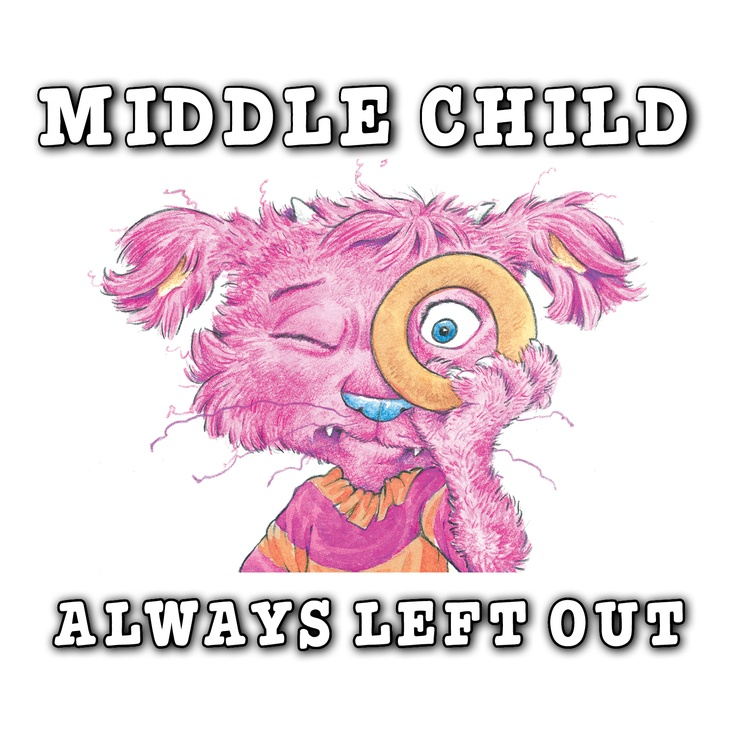 Hoogie meme: The Worst Parts of Being a Middle Child
