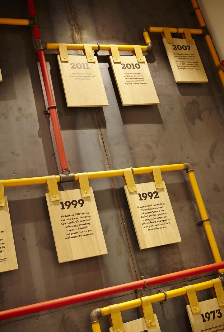 Timberland flagship store by Green Room, Glasgow – UK