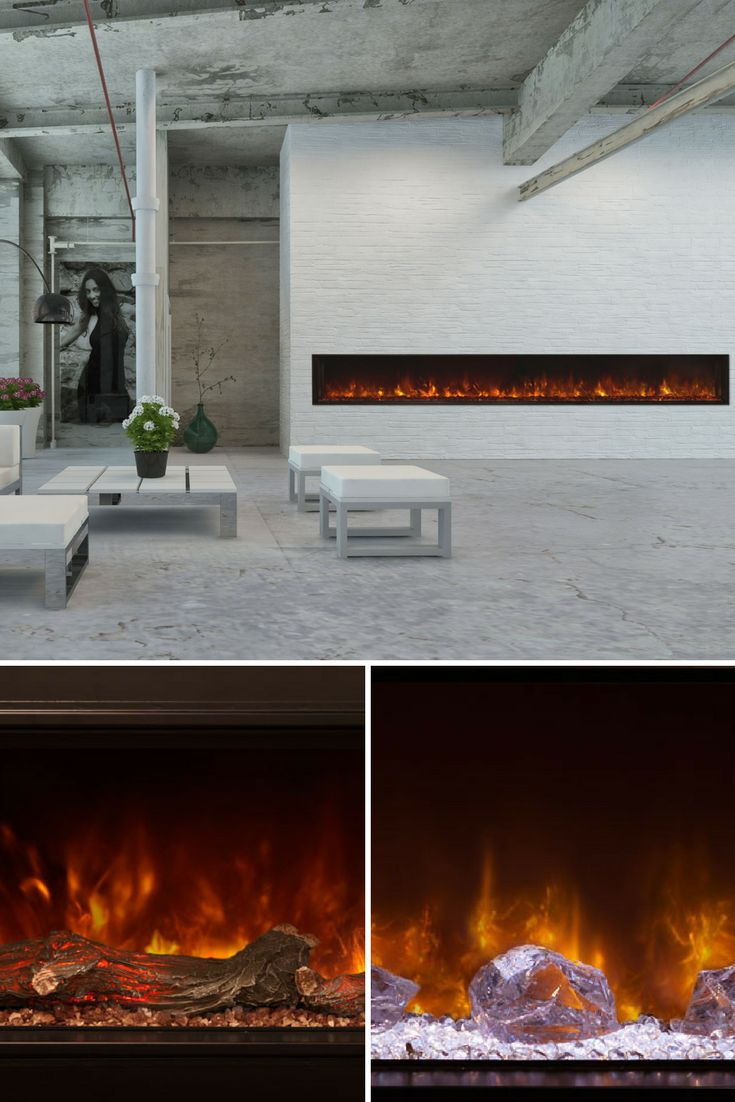 New classic flame electric fireplace inserts make an existing chimney - Modern Flames 120 Landscape Series Electric Fireplace Lfv12015 Sh