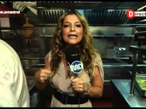 La Gabinoteca en Madrid directo, Telemadrid. Preparamos Calabacini a la carbonara, hamburguesa de rape y piruletas de brócoli.