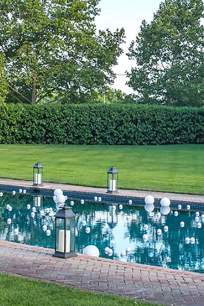 Pool Decor Ideas rectangular pool designs minimalist rectangular swimming pool design ideas 15 Pool Decor Ideas For Your Backyard Wedding