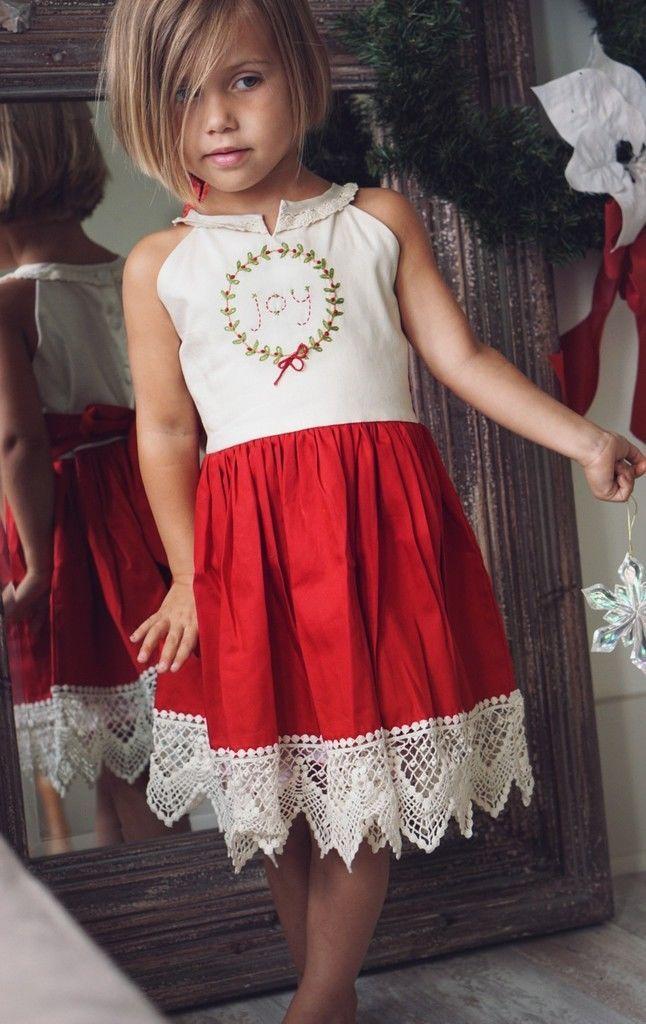 Well Dressed Wolf Holiday Christmas Joy Dress Size 8