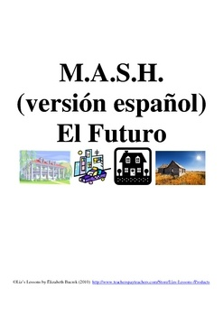 $ Have your students play in Spanish in order to practice the future tense, profession, residence, and transportation vocabulary.