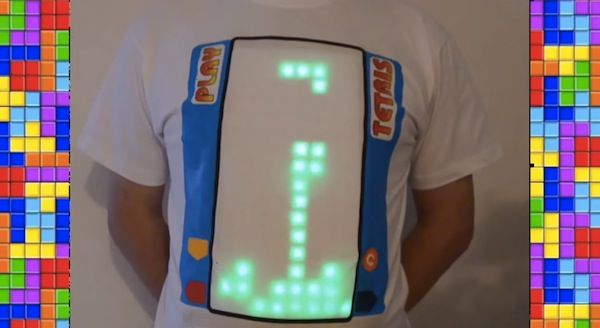 Play Tetris on Your Chest Wearing This T-shirt