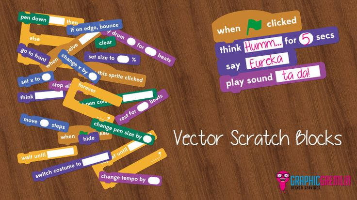 Vector Scratch Blocks | Graphic Gremlin