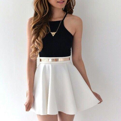 #robe #blanche #noire