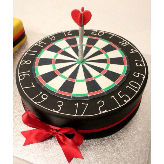how to make a dart board