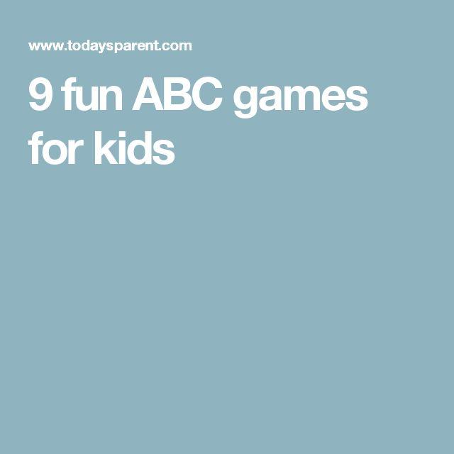 9 fun ABC games for kids