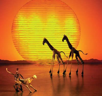 The Lion King Broadway Musical. I saw it and I felt like I was watching Lion King for the first time.