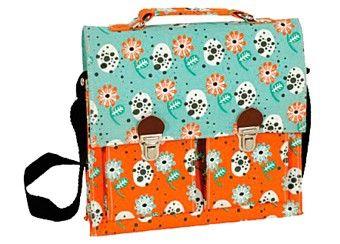 sweet pre school satchel with flowers