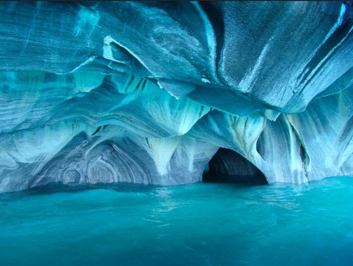 Cavernas de Marmol en Patagonia. Encuentra #Vuelosbaratos en http://escapar.cl/pasajes-a-puerto_montt-PMC