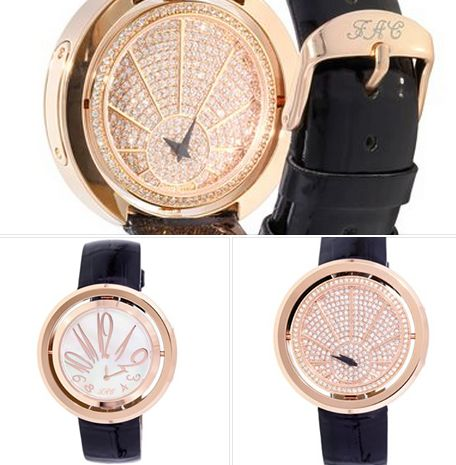 This watch has 2 faces! It pivots www.fifthavenuecollection.com/gcaroscio