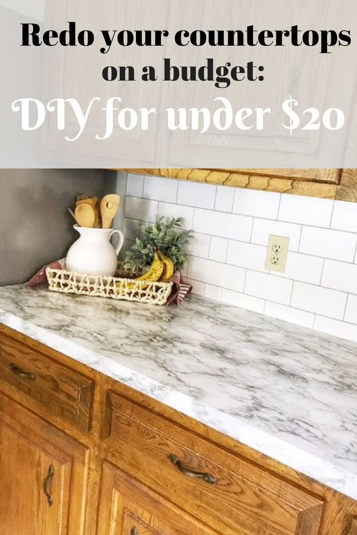 1 Way To Update Countertops Without