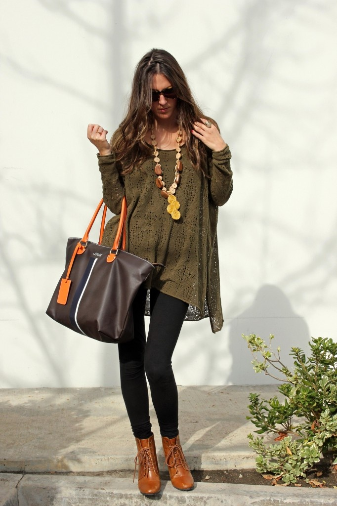 Oversized Sweater And Leggings My Outfits Boho Pinterest Nice