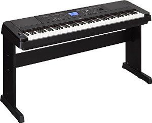 Amazon.com: Yamaha DGX-660 88-Key Weighted Action Digital Grand Piano with Matching Stand, Black: Musical Instruments