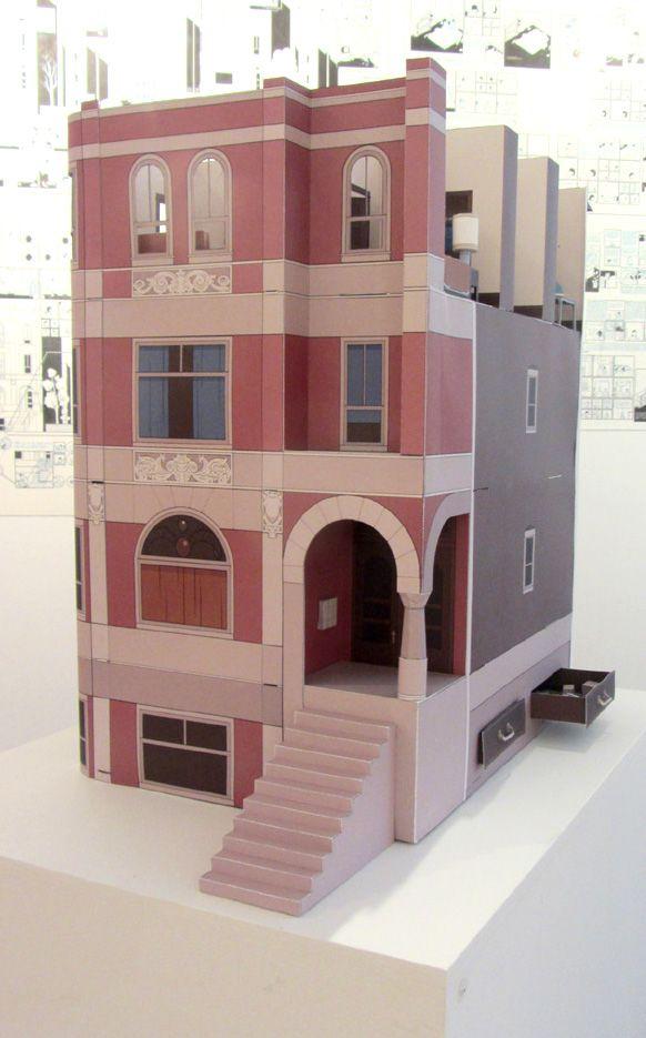 Building stories, Chris Ware bldgWB.jpg (582×935)