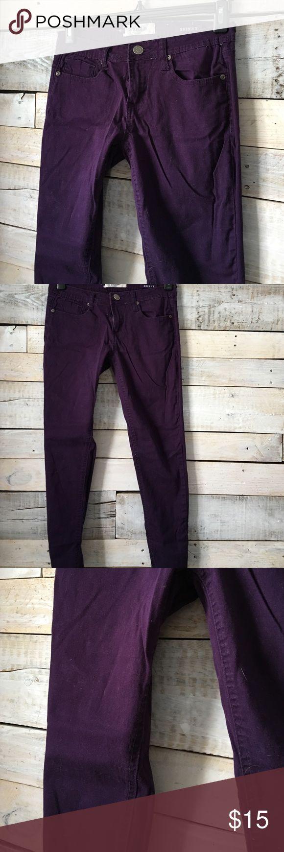Purple skinny jeans Purple skinny jeans Jeans Skinny