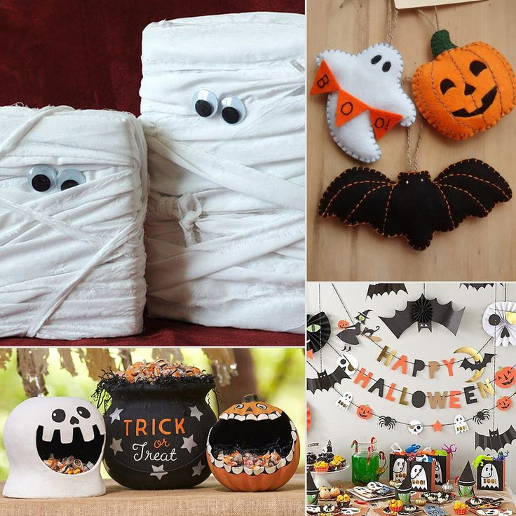 13 best Halloween klip images on Pinterest 2nd grade crafts, Art - homemade halloween decorations kids
