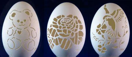 tailler les œufs de dentelle outil dremel