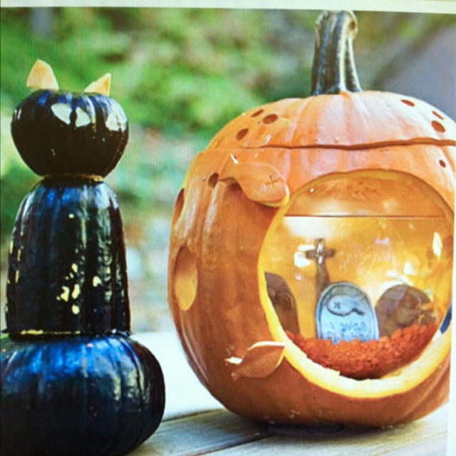 Fishbowl Pumpkin!