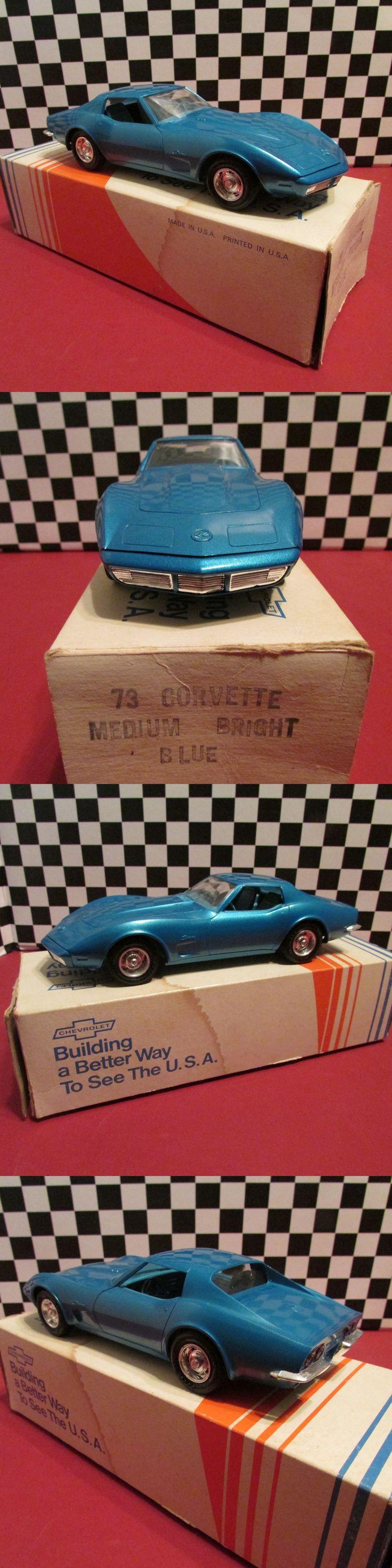 Promo 2592 1973 chevrolet corvette 1 25 scale dealership promotional model car mint