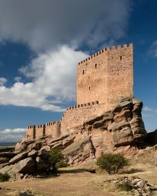Castillo de Zafra. Campillo de Dueñas (Guadalajara)
