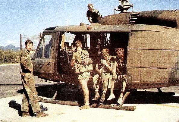 Rhodesian Huey obtained from Israel