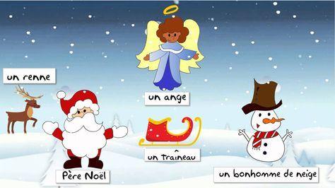 ¿Vous voulez connaître le vocabulaire de Noël en français? Alors, cette vidéo de notre cours de français en ligne est parfaite pour vous! #noël