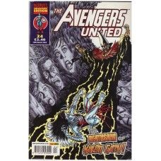 The Avengers United #24 from Marvel/Panini Comics UK. 12th March 2003 issue. In very good condition internally and cover. Bagged and boarded. £2.00