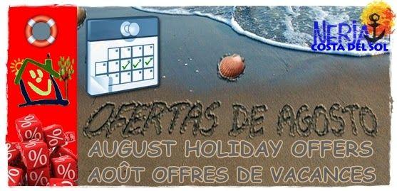 Consigue las Mejores Vacaciones de agosto al mejor precio, últimos días libres en El Capistrano, Nerja, Costa del Sol