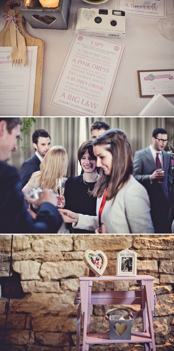 A pretty wedding at Cripps Barn by Anna Clarke photography with a lace pronovias dress 0314 A Rock My Wedding Special   Lisa & Will Part 2