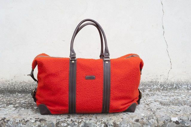 Borsone da Viaggio in Panno Casentino Travel Bag in Panno Casentino