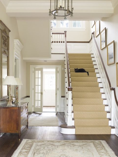 Sisal Staircase - Phoebe Howard Design