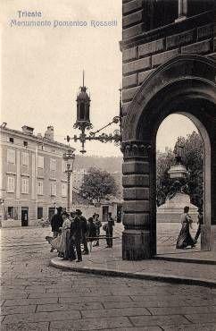trieste via della tesa   MisterKappa: vedute fotografiche di Trieste - editore Saul D. Modiano ...