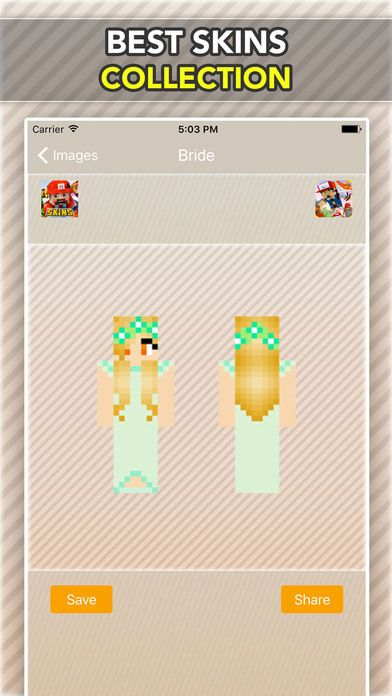 Wedding, Bride and Groom Skins For Minecraft PE on the App Store